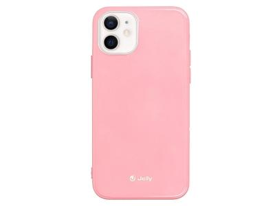 Силиконов Гръб Jelly Case за iPhone 12 Mini, Светло розов