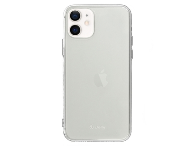 Силиконов калъф Jelly Case за iPhone 12 Mini, Прозрачен