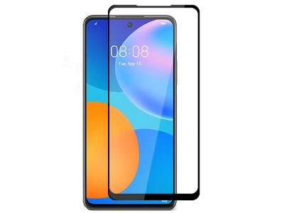 Стъклен Протектор 5D Full Glue за Huawei P Smart 2021, Черен