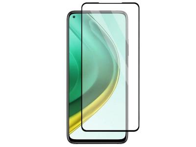 Стъклен Протектор 5D Full Glue за Xiaomi Mi 10T 5G / Mi 10T Pro 5G, Черен