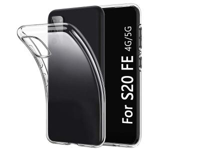Силиконов гръб 0.5mm за Samsung Galaxy S20 FE, Прозрачен