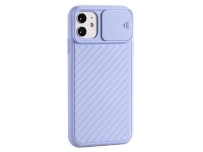 Силиконов калъф Shield за iPhone 12 Pro Max 6.7 inch, Лилав