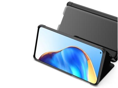 Калъф Тефтер View Window Mirror за Xiaomi Mi 10T 5G / Mi 10T Pro 5G, Черен