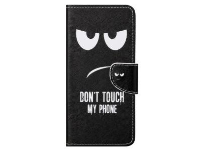 Калъф Тефтер за Xiaomi Mi 10T Lite 5G , Dont Touch My Phone