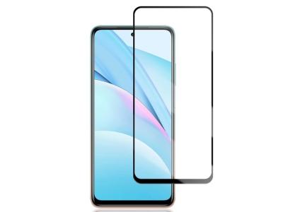 Стъклен Проектор Full Glue 5D за Xiaomi Mi 10T Lite 5G, Черен
