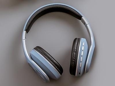 Безжични слушалки Bluetooth GJBY CA-019, Син
