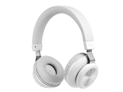Безжични слушалки Bluetooth GJBY CA-022, Бял