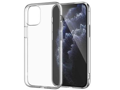 Силиконов калъф 0.5mm за iPhone 12 Pro Max, Прозрачен