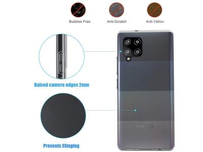 Силиконов калъф 0.5мм за Samsung Galaxy A42, Прозрачен