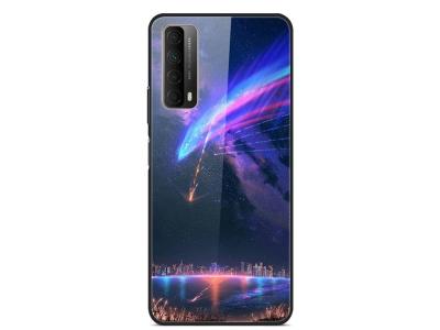 Стъклен калъф Glass за Huawei P Smart 2021 / Huawei Y7a, Град