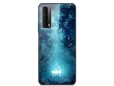 Стъклен калъф Glass за Huawei P Smart 2021 / Huawei Y7a, Пиано