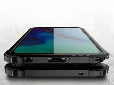 Удароустойчив калъф Armor за Motorola Moto G Stylus / G Pro, Черен