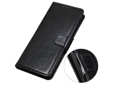 Калъф Тефтер Crazy Horse за Nokia 8.3 5G, Черен
