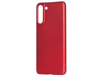 Силиконов Гръб Level за Samsung Galaxy S21, Червен