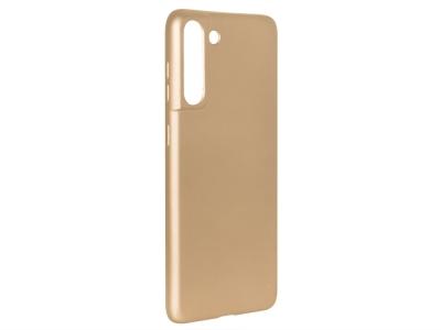 Силиконов Гръб Level за Samsung Galaxy S21, Златист