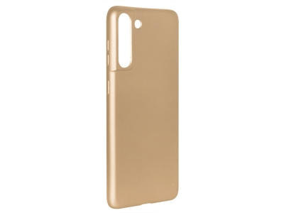 Силиконов Гръб Level за Samsung Galaxy S21 Plus, Златист