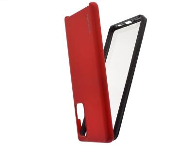 360 Градуса Калъф за Samsung Galaxy S20 FE, Червен