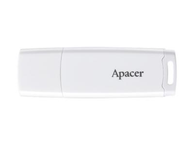 Флаш памет 32GB Apacer AH336 Flash 2.0, Бял
