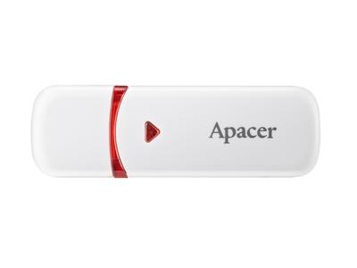 Флаш памет 32GB Apacer AH333 Flash 2.0, Бял