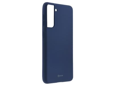Силиконов калъф Roar Colorful за Samsung Galaxy S21, Тъмно син