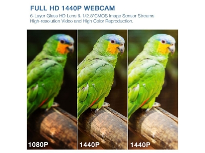 Камера WEB 2K Quad HD B8-C06 1440P