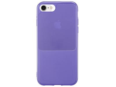 Силиконов калъф Window Case за iPhone 7 / iPhone 8 / SE (2020), Лилав