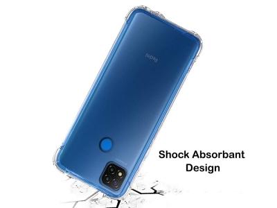 Силиконов калъф Anti Shock за Xiaomi Redmi 9C, Прозрачен