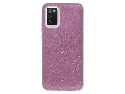 Силиконов калъф SHINING за Samsung Galaxy A02s, Розов