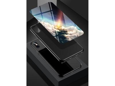 Калъф Гръб Glass за Samsung Galaxy A11, Метеор