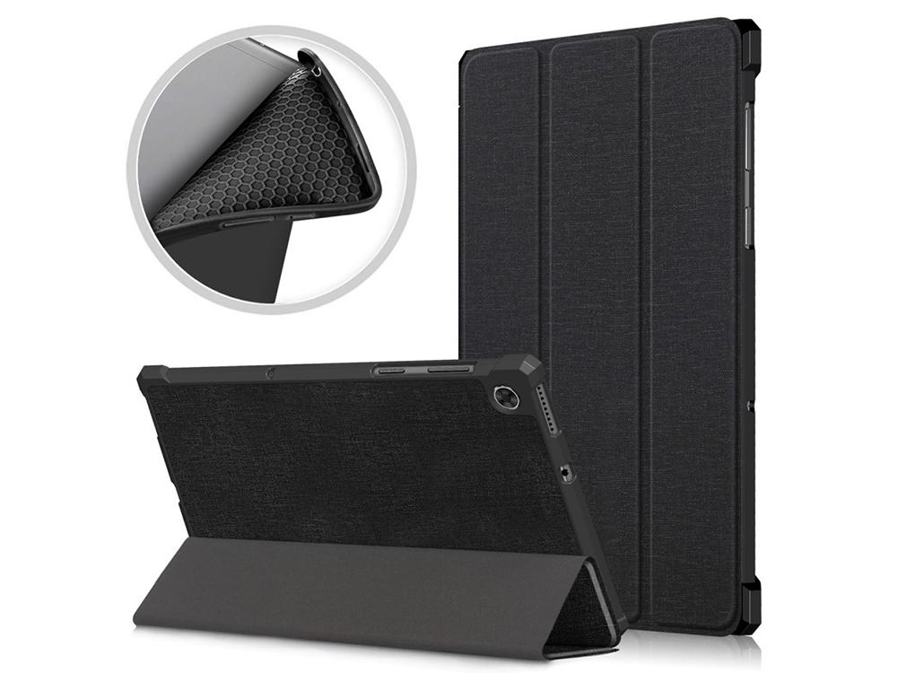 Калъф тефтер за Lenovo Tab M10 Plus/X606, Черен