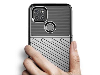 Силиконов Калъф Twill Texture за Motorola Moto G9 Power, Черен