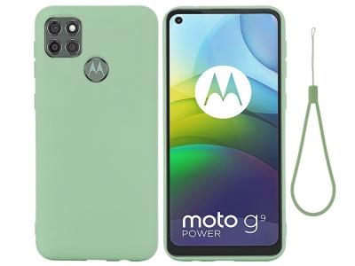 Калъф гръб Matte за Motorola Moto G9 Power, Зелен