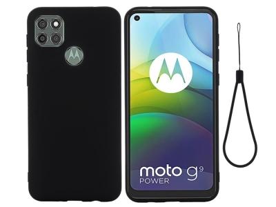 Калъф гръб Matte за Motorola Moto G9 Power, Черен