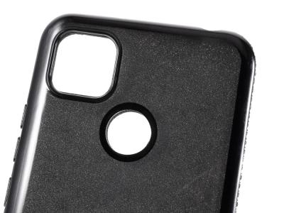 Силиконов калъф Metal Kickstand за Xiaomi Redmi 9C, Черен