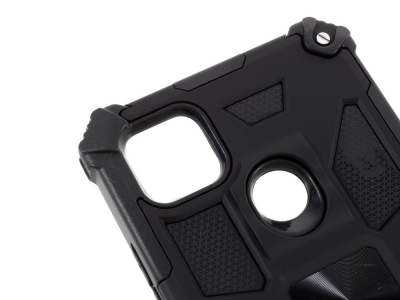 Удароустойчив калъф Kickstand Armor за  Xiaomi Redmi 9C, Черен