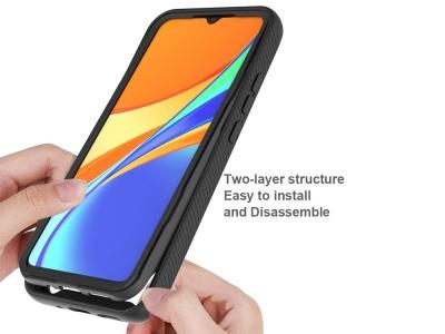 Удароустойчив калъф Hybrid за Xiaomi Redmi 9C, Черен