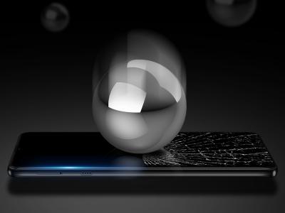Стъклен Протектор 10D Full Glue за Motorola Moto E7 , Черен