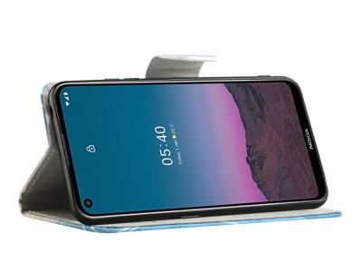 Калъф Тефтер за Nokia 5.4, Мече