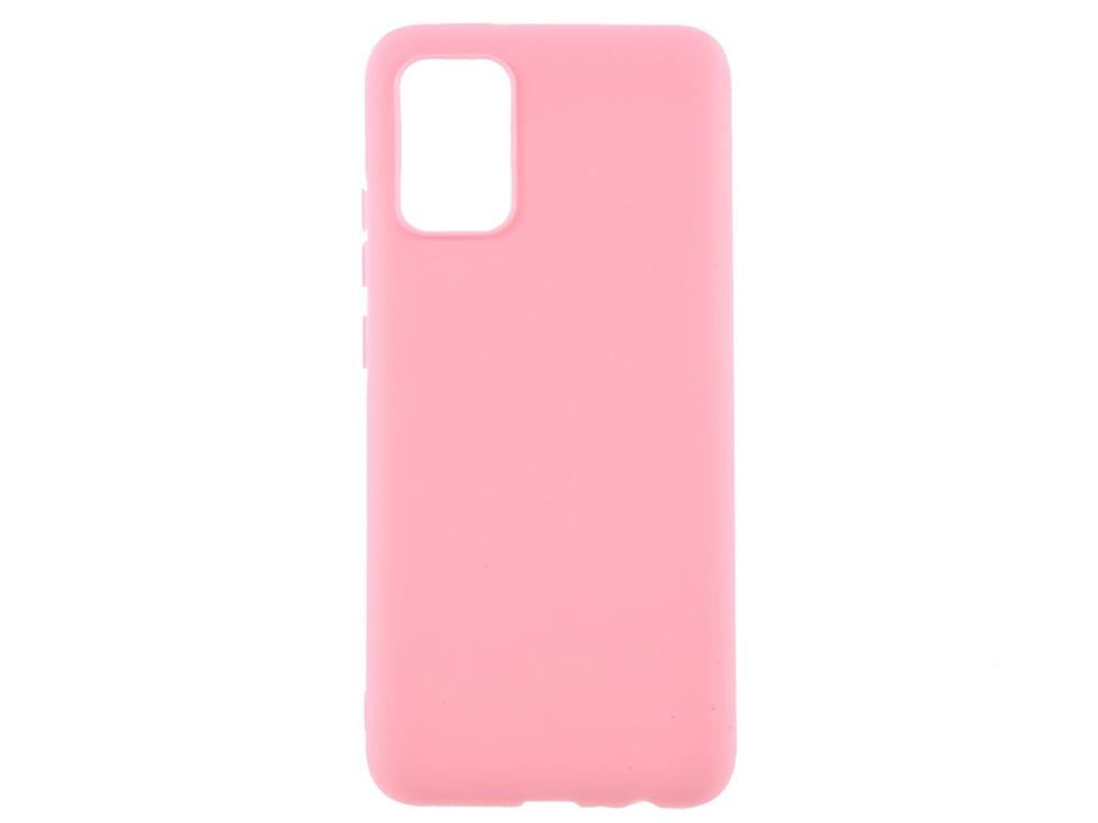 Силиконов калъф Matte за Samsung Galaxy A02s, Розов