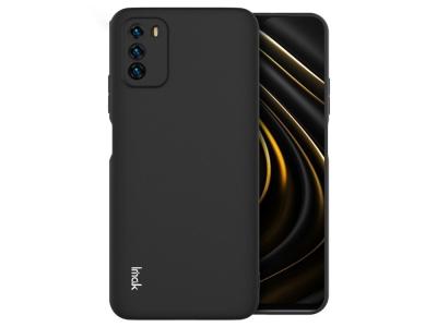 Силконов калъф IMAK UC-1 за Xiaomi Poco M3, Черен
