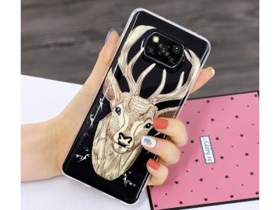 Силиконов калъф за Xiaomi Poco X3 NFC/X3 Soft Phone Cover, Елен