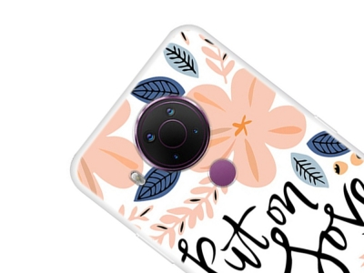 Силиконов калъф за Nokia 5.4, Put on Love