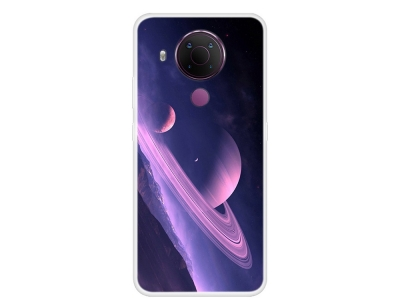 Силиконов калъф за Nokia 5.4, Звездно небе