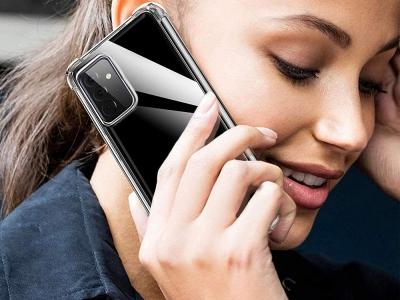 Силиконов калъф Jelly Roar за Samsung Galaxy A72 (5G), Прозрачен