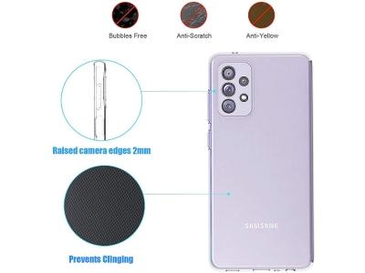 Силиконов калъф за Samsung Galaxy A72 LTE (4G), Прозрачен