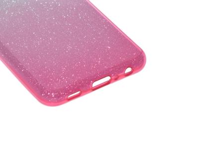 Силиконов калъф SHINING за Samsung Galaxy A32 (5G), Сребрист- Розов