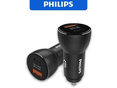 Зарядно 12v Philips DLP2521 36W 1xUSB, 1xType C