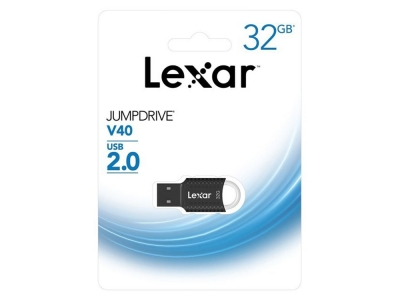 32GB USB Флаш памет Lexar USB 2.0 JumpDrive V40