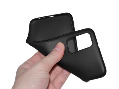 Силиконов гръб Level за Xiaomi Redmi 9T, Черен