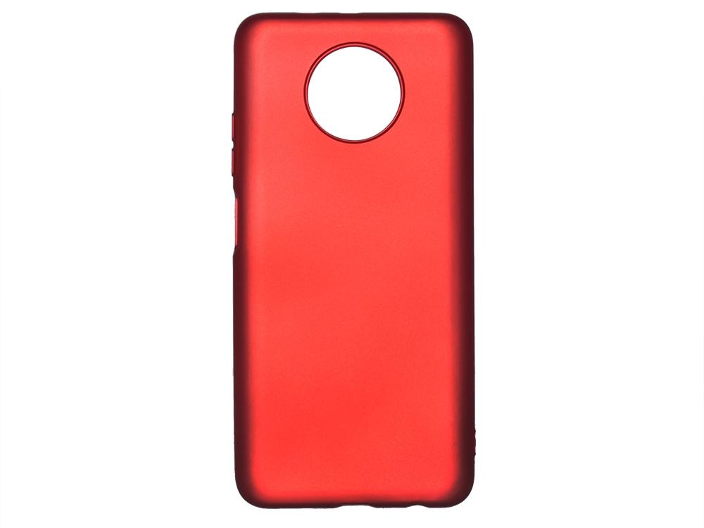 Силиконов гръб Level за Xiaomi Redmi Note 9T 5G, Червен